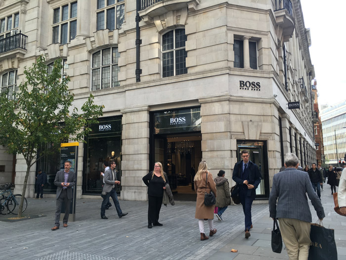 Sloane Square Hugo Boss small