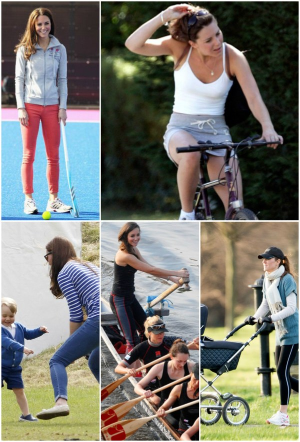 Kate Middleton Duchess of Cambridge Fitness and Exercise Routine