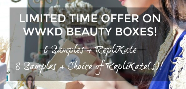 WWKD Royal Beauty Box Limited Time Offer