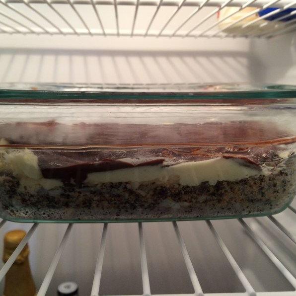 Place in refrigerator for at least one hour before serving.