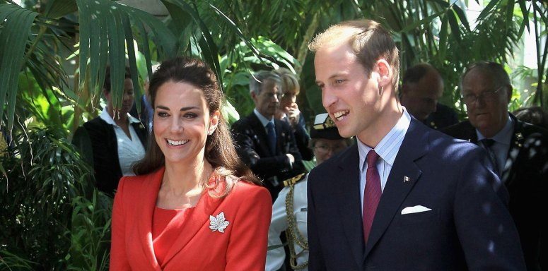 Kate Middleton Prince William Canada