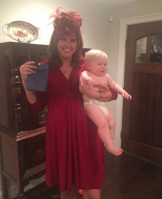Kate Middleton Halloween Pregnant Costume