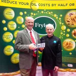 I joined Frylow™ President in his booth to learn how the Rock My Restaurant Audience could improve quality and save Oil Life with Frylow™