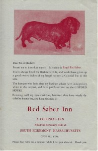 Red Saber Inn