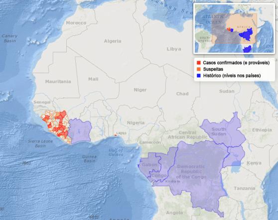 Países-Ebola