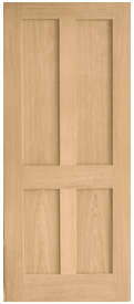 Browse Flat Panel Oak Internal Doors