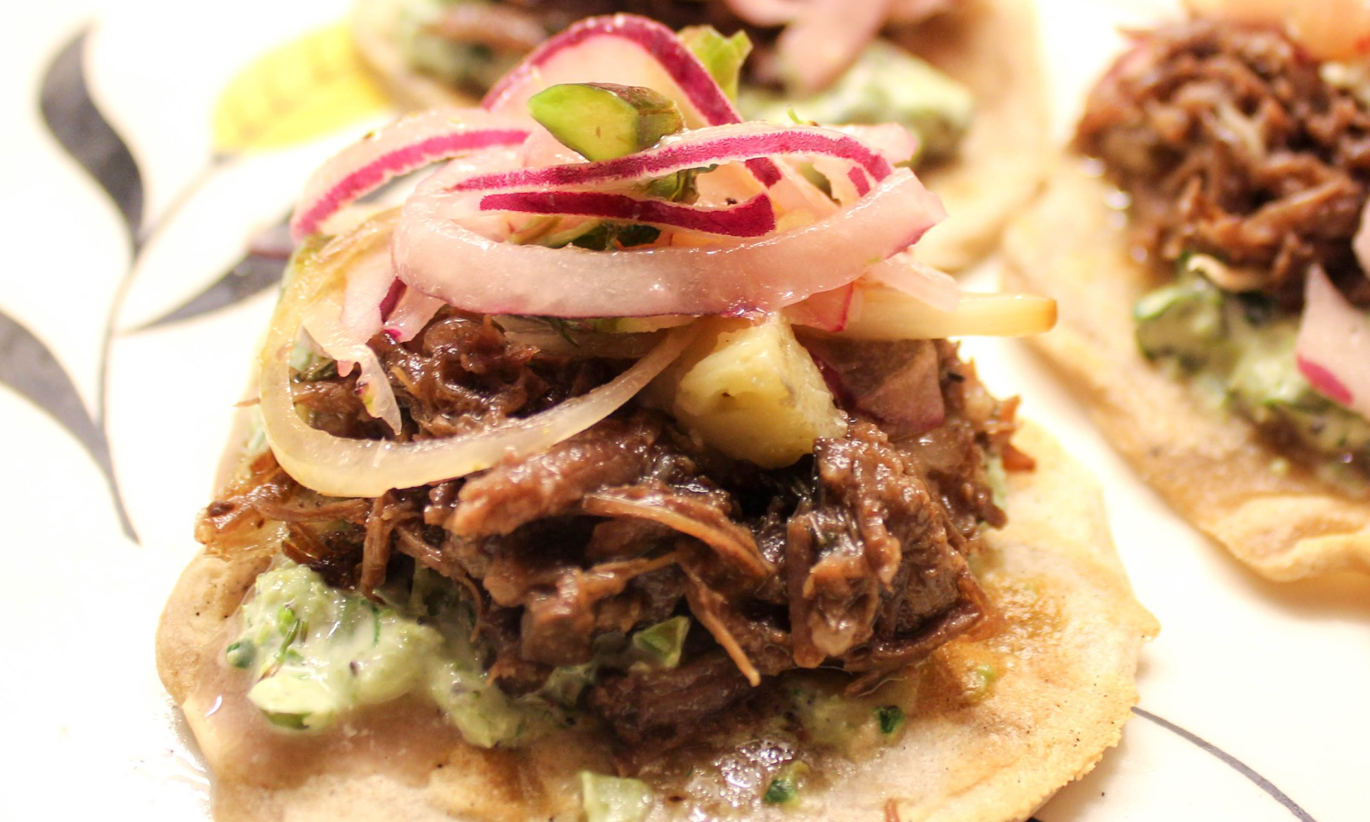 ox cheek taco