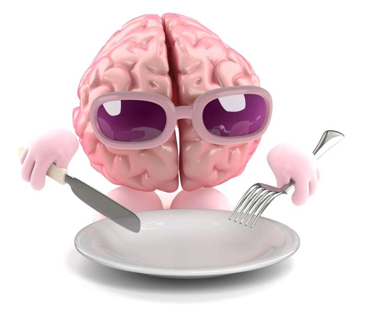 Brain is ready for dinner