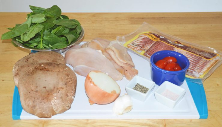 chicken-bacon-ingredients