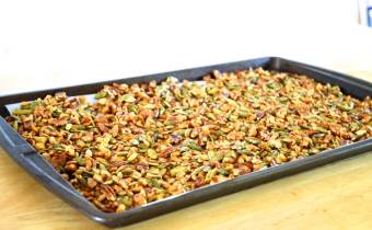 Hot and Spicy Nut Mix Recipe, from Wheat Belly 10-Day Detox