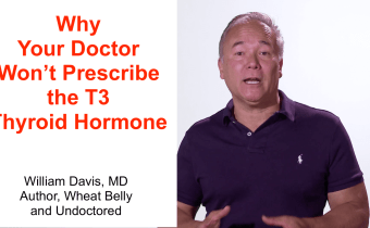 Why Your Doctor Won't Prescribe the T3 Thyroid Hormone