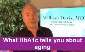 What HbA1c tells you about aging