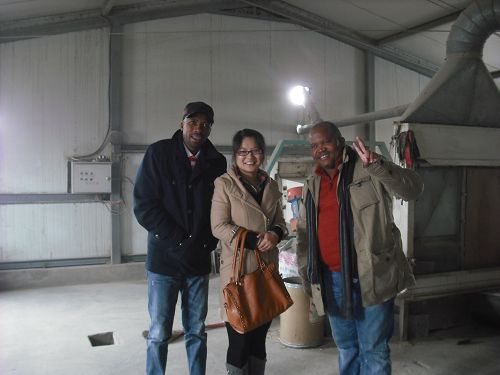 South Africa Client Visit Flour Mill Machine