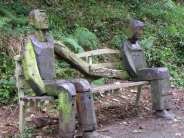 Tarka trail courtship bench