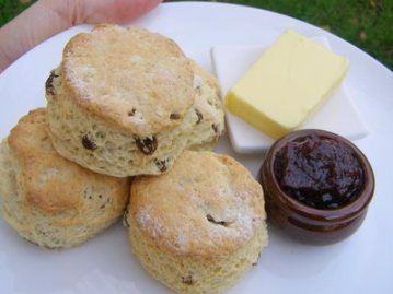 Welcome scones!