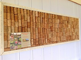 honeysuckleecologeupcycledcorkboard
