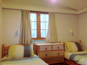 Beech Eco Lodge Wheatland Farm twin room
