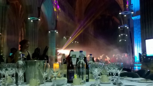 The Sout West Tourism Awards 2016 in Exeter Cathedral