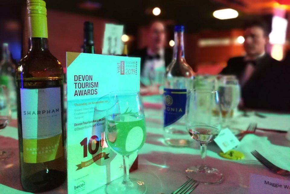 Celebrating the Devon Tourism Awards 2019