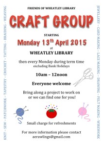 Craft Group Poster