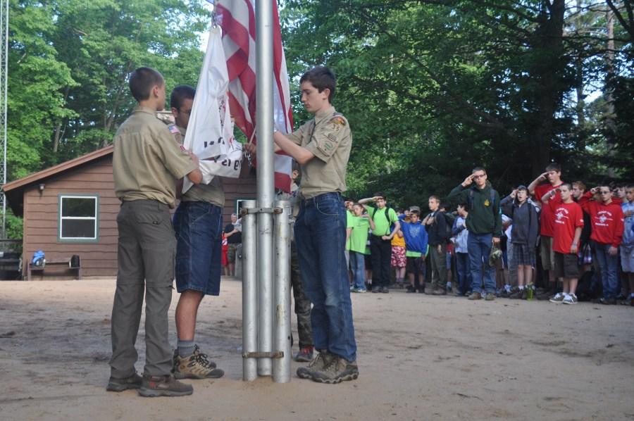 Morning Flag Ceremony
