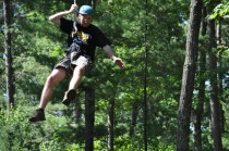 Mr. Vail zipping along