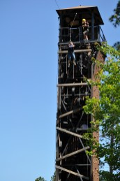 Zipline tower of fear