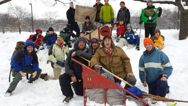 The Troop at Klondike - 2014