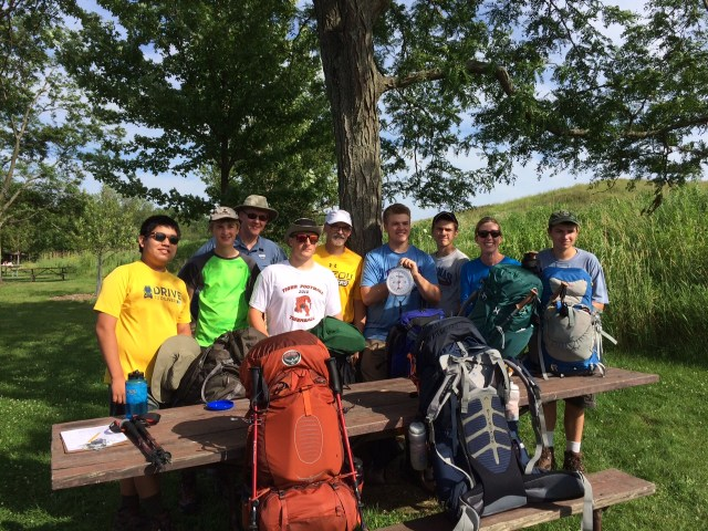 The Philmont crew - ready for a hike of a lifetime