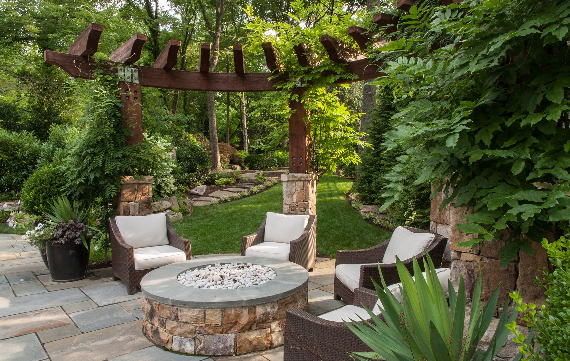 Landscape Design Project In Northern Va Landscape Design