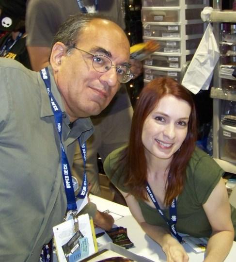 Felicia Day at Comic Con 2008
