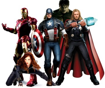 Marvel hero costumes
