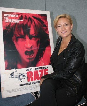 Zoe Bell talks about her new movie, Raze