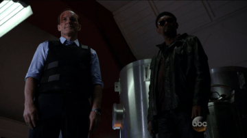 Coulson and Fury SHIELD