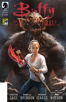 Dark Horse Buffy variant_SDCC2014_Buffy S10_Issue5