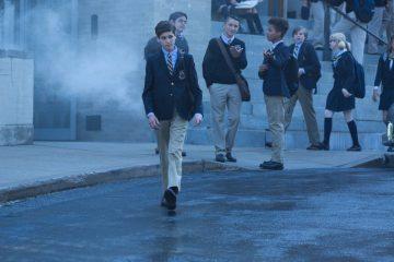 bruce at school