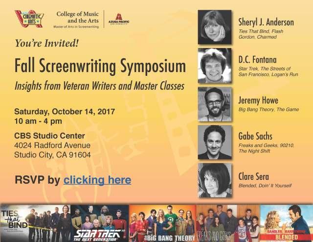 APU SCW Symposium