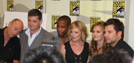 Entire cast of Psych