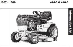 Tractor 1988 4148 & 4168 Wiring Detailedpdf  19851990  RedSquare Wheel Horse Forum