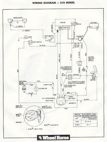 wheel horse 312 wiring diagram wiring diagrams wheel horse 416 8 wiring diagram the