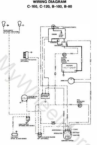 76 c120 wiring help  wheel horse electrical  redsquare