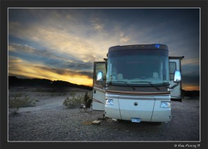 Hanging at our boondocking spot