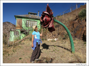 You never know what you'll find if you take your time. Exploring art in Bisbee, AZ Mar 2013