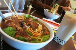 Taiwanese Beef Noodle Soup & Boba Tea...YUM!!
