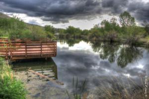 A relaxing spot near the John Day River
