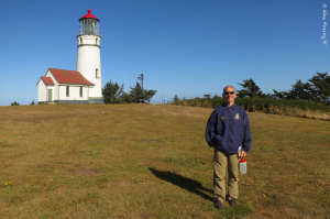 A brilliantly sunny morning at the lighthouse