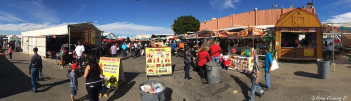 The Mexican Market -> By far the rowdiest and cheapest of the flea markets