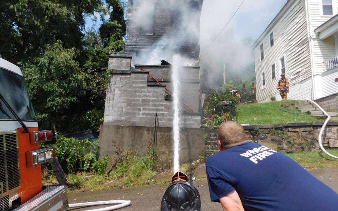 ALL HANDS WORKING VACANT HOUSE FIRE – 13th Street EAST WHEELING
