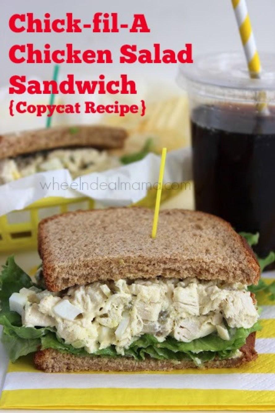 Chick fil A Chicken Salad Sandwich