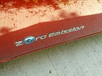 The badging gives a clue to the car's electric propulsion system…